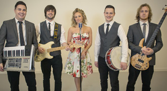Backbeat corporate event band for hire